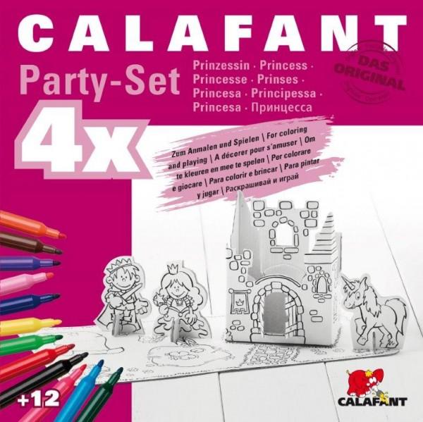 """Party-Set """"Prinzessin"""" zum Stecken, malen & spielen"""