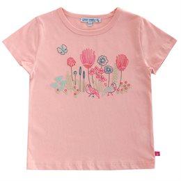 Bio T-Shirt Mädchen mit hochwertiger Stickerei