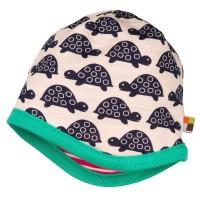 Vorschau: Wendemütze von Loud and Proud pink mit Schildkröten