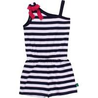 Vorschau: Kleid Einteiler mit Shorts und Raffung