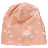 Leichte Beanie Pusteblumen rosé