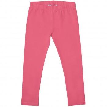 Elastische pinke Uni Basic Leggings