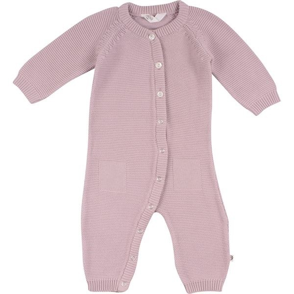 Hochwertiger Baby Strick Overall rosa