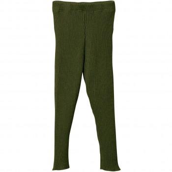 Woll Leggings oliv-grün warm und mitwachsend