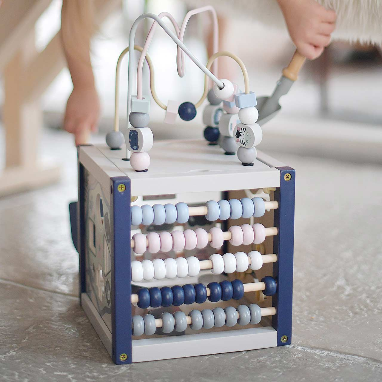 EverEarth Spielzeug Handy aus Holz, Maße 2,5 x 8,55 x 13,5 cm