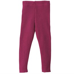 Wolle Leggings warm mitwachsend grau