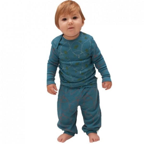 Kinder Schurwoll Hemd - Designerstück - extravagant