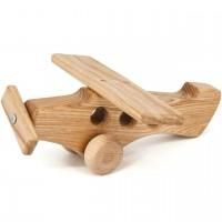 Holz Flugzeug mit Propeller ab 10 Monaten