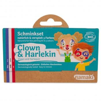 Bio Kinderschminke Clown & Harlekin 3 Farben