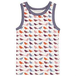 Unterhemd Bio Vogel orange