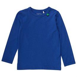Klassisches Langarmshirt Ocean blau