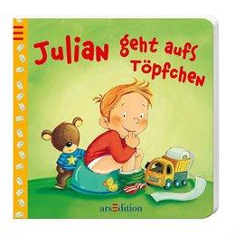 Julian geht auf Töpfchen - Windelfrei Buch