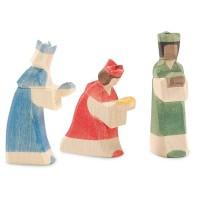 MINIATUR Heilige 3 Könige 8 cm hoch für kleine Weihnachtskrippe