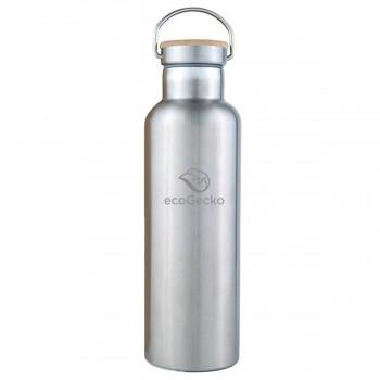 Edelstahl Thermosflasche 0,75 l - doppelwandig