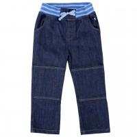 Jeanshose dunkelblau Rippbund