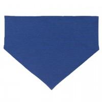 Halstuch weich elastisch griffig blau geringelt