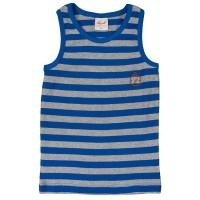 Vorschau: Bio Unterhemd für Jungen blau