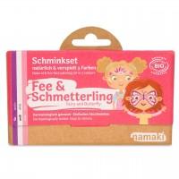 Bio Kinderschminke Fee & Schmetterling 3 Farben