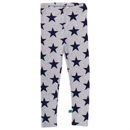 Warme Sternen Leggings grau