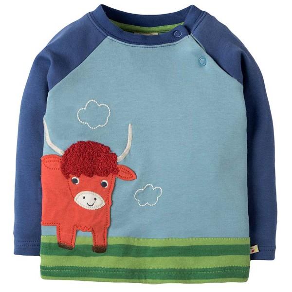 Robustes Shirt langarm mit Highland Bully