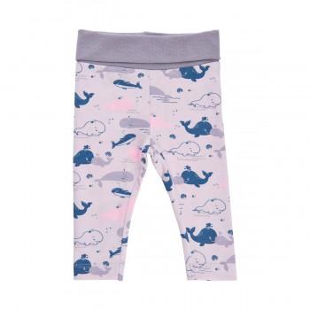 Babyhose Wale lavendel Bündchen