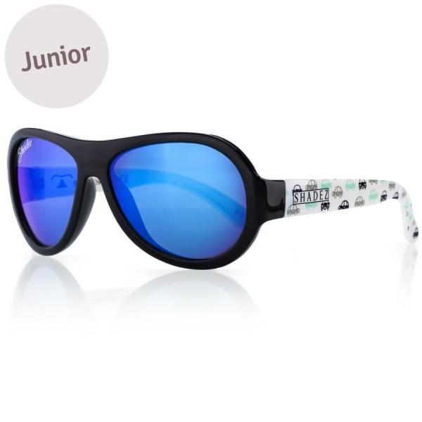 Kinder Sonnenbrille 3-7 schadstofffrei blaue Autos