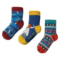 Kindersocken Walross im 3er Pack