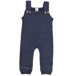 Wolle Biobaumwolle Mix - warmer Babystrampler