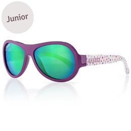 Kinder Sonnenbrille 3-7 schadstofffrei Herzen lila