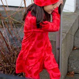 Tunika langarm Apfel rot super soft
