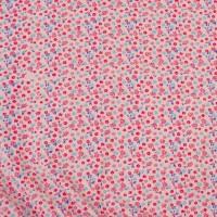 Vorschau: Bio Mädchen Rock weiches Jersey Blume rosa