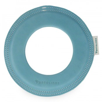 Kleiner super weicher Wurfring LOOP Frisbee blau