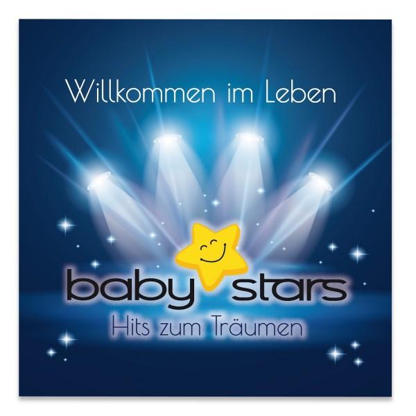 """Einschlafmusik - Baby-Stars - """"Willkommen im Leben"""""""