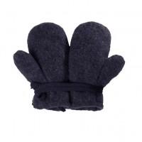 Schurwolle Baby Handschuhe jeans