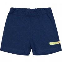 leichte Leinen Shorts dunkelblau