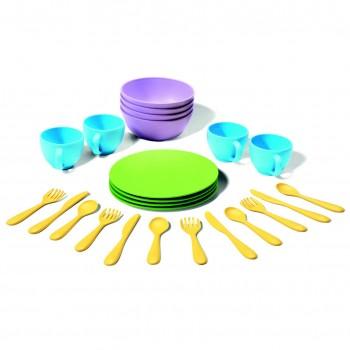 Spiel -Geschirrservice 24-Teilig robust