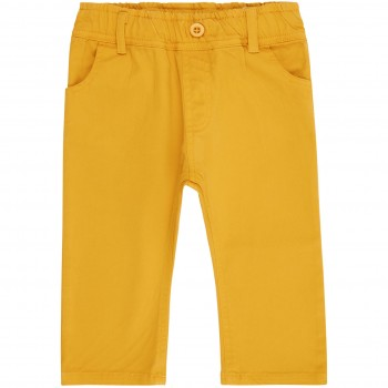 Baby  Outdoor  Übergangshose  Twill  in  senf