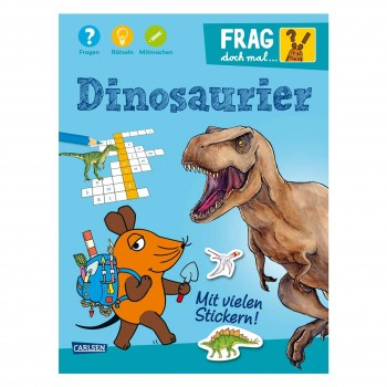 Mitmachbuch Frag doch mal die Maus Dinos ab 7 Jahre