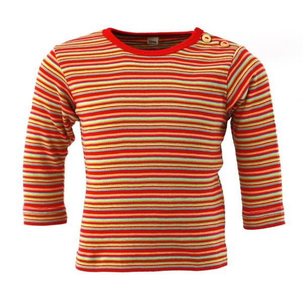 Langarmshirt mit Schulterknöpfen