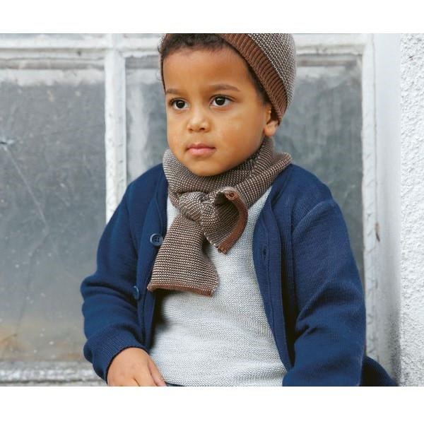 Leichter Wolle Pullover silber grau