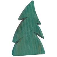 Tanne Holz Deko 14 cm hoch