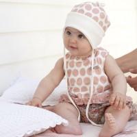 Edles Babyshirt pfirsich