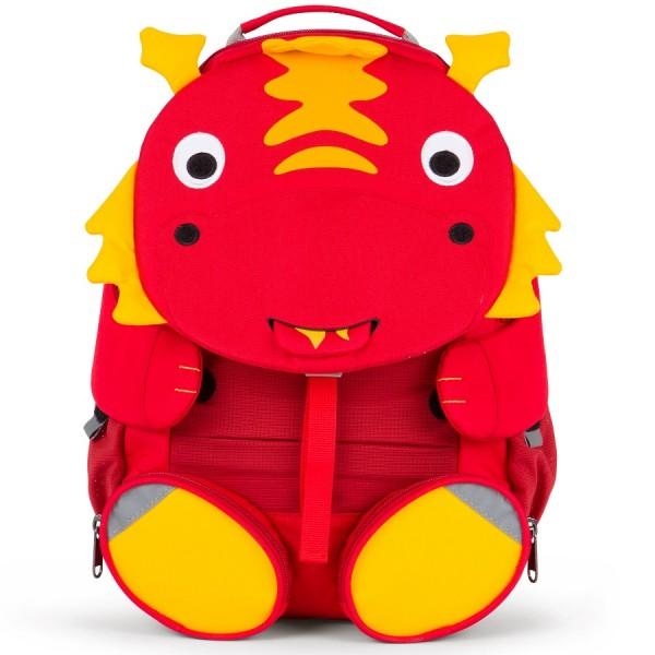 Drache Kindergarten Rucksack 3-6 Jahre rot