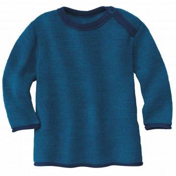 Pullover Baby Schurwolle in marine
