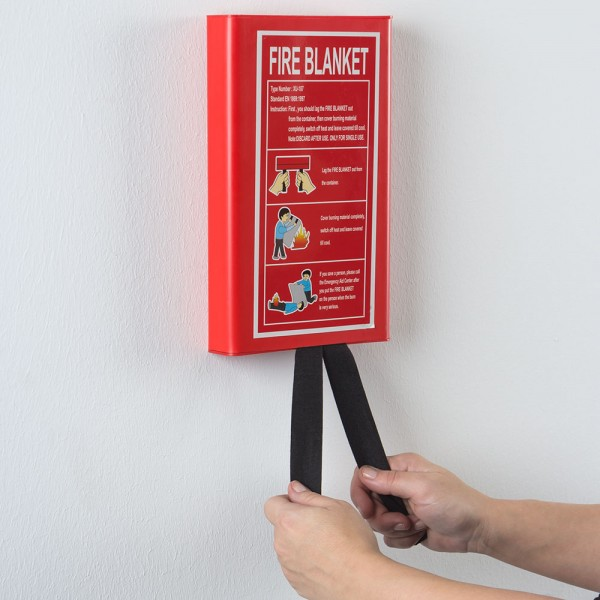 Feuerlöschdecke für Küche & Mensch