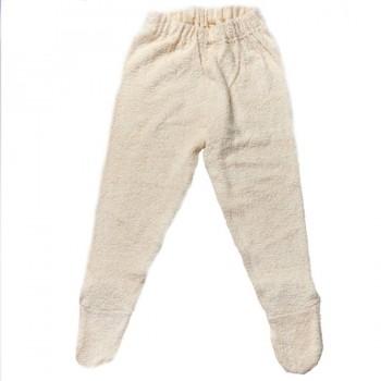 Weiche Frottee Unterhose mit Fuß