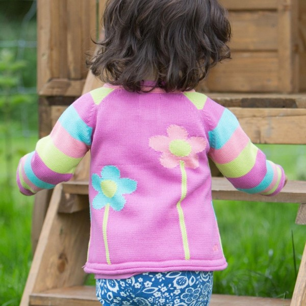 Hochwertige Strickjacke für Mädchen