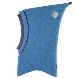 Wolle Schlupfmütze ohne Schirm blue