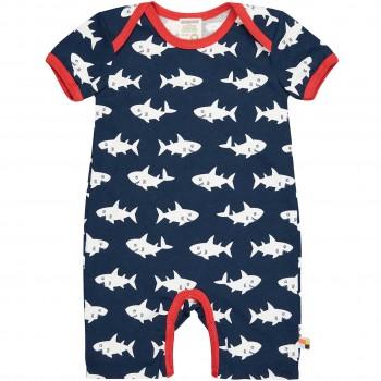 Spieler kurzarm Haie in dunkelblau leicht