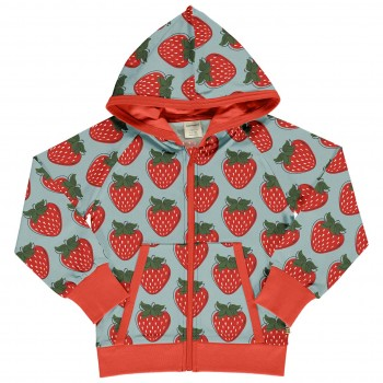 Kapuzen Jacke Erdbeeren doppelt Sweat